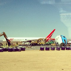 The Victorville Boneyard (sfPhotocraft) Tags: california graveyard desert jet planes boneyard victorville 2014 mulching martinair