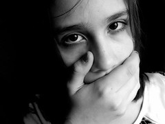 I don't think there's anything to tell, you haven't seen anything, haven't you. #photography #abuse #domestic violence #violence #childhood #blackandwhite #silence (heinrichyvonne) Tags: blackandwhite childhood photography domestic silence violence abuse