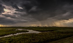 Stormy weather (James Waghorn) Tags: summer england water rain weather clouds kent nikon moody stormy hdr faversham oare sigma1020f456 oaremarshes d7100 lightroom56