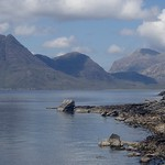 Loch Scavaig and Skye mountains thumbnail