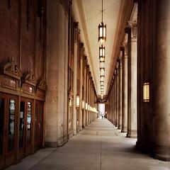 Civic Opera Building (Richard Pilon) Tags: urban chicago building heritage architecture historic heritagebuilding iphone iphoneography hipstamatic