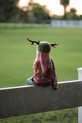 Lone Explorer (bjdlove101) Tags: ball asian doll deer antlers bjd fairyland abjd jointed shushu minifee bjdlove101 bjdlove
