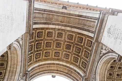 Sous l'Arc de Triomphe