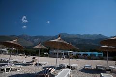the beach and the mountain (filipe mota rebelo | 400.000 views! thank you) Tags: vacation mountain beach canon hotel balkans albania 2014 balcans fmr drymades 5dmarkii filipemotarebelo