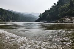 227 Boat to Nong Khiaw (farfalleetrincee) Tags: travel tourism nature river landscape island boat asia southeastasia adventure guide laos ouriver