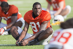 OSU Football Fall Practice, Thursday, August 7, 2014, Sherman E. Smith Training Center, Stillwater, OK (OSUAthletics) Tags: cowboys training football osu 2014 oklahomastateuniversity seales cowboyfootball fallpractice fullpads shermanesmithtrainingcenter jhajuanseales