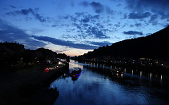 Heidelberg (benoubenoubenou) Tags: heidelberg paysage nuit allemagne neckar