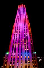 New York City Rockefeller Center (City Clock)