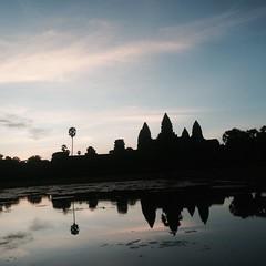 Sunrise at Angkor Wat - 039