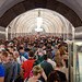 Crowded Metro Station in Moscow – Not Even at Rush Hour!