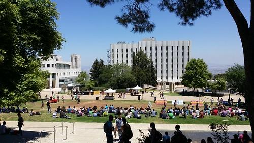 Technion - Students' outdoor party (Haifa, Israel)