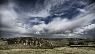 Hadrian's Wall and between storms - August 2014