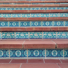 (Laura L. Ruth) Tags: summer stairs tile hearstcastle 2014 lauraruth instagram