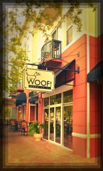 Woof - Here it is. Dog spa & grooming and services in West Park Village