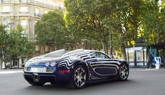 Bugatti Veyron Grandsport L'Or Blanc. (JayRao) Tags: paris france nikon alma august saudi bugatti veyron ksa 2014 jayr d610 grandsport hypercar orblanc arabsupercar