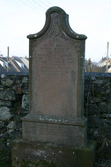 Murray grave down in Scottish Borders