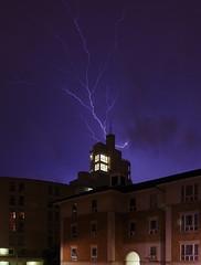 IMGP2231 (mattbuck4950) Tags: england sky london night europe unitedkingdom july lightning 2014 londonboroughoftowerhamlets 416manchesterroad lenssigma18250mm camerapentaxk50