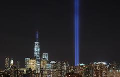 NYC 9/11 Tribute in Light (Wils 888) Tags: nyc newyorkcity ny newyork nightshot 911 tributeinlight 20140911