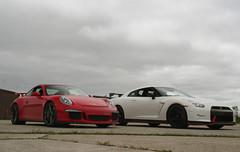 911 GT3 and GT-R NISMO (Alex Nunez) Tags: city airport nissan 911 detroit porsche supercars gtr 991 gt3 nismo roadtrack pcoty performancecaroftheyear