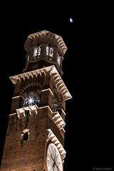 Piazza Erbe - La Torre e la Luna - HDR (Simone Girlanda) Tags: italy europe italia verona urbanlandscape veneto flickrset