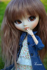 petite nouvelle (~Louna~) Tags: girl eyes wig pullip poison fc poisongirl obitsu fullcusto
