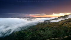 Blow of the North (CResende) Tags: sunset mountain portugal nature colors clouds landscape highlands panoramic blow nikkor d800 viseu 1635 montemuro castrodaire cresende