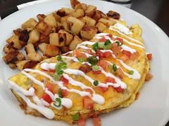 Folsom Omelette, Early Toast #breakfast #food #omelette