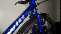 Hewitt Cheviot Touring Bike Flamboyant Blue (Large) (drbw120367) Tags: hewittcheviotinflamboyantbluelarge shimano xtr xt dura ace chris king deda thomson kcnc dt swiss continental gator hardshell alpine iii oversize100 elitex4avidshorty6duraacestidtswisstk540chriskingsramcateyenimacateyeld600ptfeduraacecablethomsonskscontinentalgatorhardshellblackburncl2ex2reynolds631700x28 tourer racing handlebars touring bike retro pannier bolts bespoke reynolds elite x4 hudz donuts orings ptfe 36 spokes black mudguards hewitt cycles crystal swarovski presta valve mountain mudflap friction 443222t bars stem seatpost saddle b17 special carbon spacers 272mm 318mm 18 1132t 10 speed 28mm 1725mm 116l large cheviot flamboyant 700c blue steel british vintage
