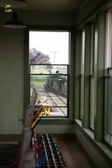 Monticello Railway Museum 401 @ Monticello, Illinois (Chessie 2117) Tags: trains monticello baldwin railroads railroadphotography trainphotos railroadphotos monticellorailroadmuseum railroadimages