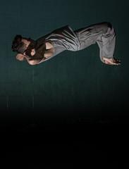 Indoor Acrobatics (bradwendes) Tags: portrait people male canon eos model action flash tricks flip acrobatics 5d modelling strobe nissin mkiii mk3 tricking freerun strobist