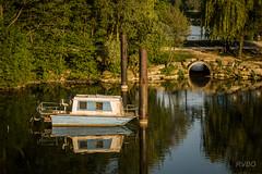 Mon rve ... (Explore) (RVBO) Tags: couleurs bateaux reflets