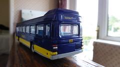 Konectbus 152 - UFX852S (Zak Nelson) Tags: blue yellow model national 17 efe leyland 152 diecast dereham konect leylandnational konectbus exclusivefirsteditions ufx852s routekb17