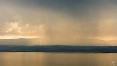 Orages sur la cte suisse depuis Evian (MarKus Fotos) Tags: clouds alpes suisse geneve lac bolt strike thunderstorm lightning evian lman thunder eclair orage vaud hautesavoie tonnerre clair chablais foudre thunderstrike