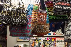 Barcelona (diwan) Tags: barcelona street city espaa canon geotagged eos spain place souvenir bags catalua spanien taschen rambla 2014 katalonien pedestrianpassage rambladesantjosep canoneos650d fusgngerpassage geo:lon=2175005 geo:lat=41379139