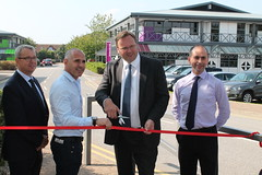 "Stephen Mosley MP opening new Honeycomb offices at Chester Business Park • <a style=""font-size:0.8em;"" href=""http://www.flickr.com/photos/51035458@N07/15277437665/"" target=""_blank"">View on Flickr</a>"