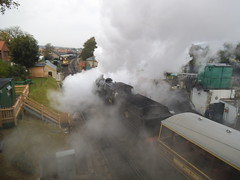 full steam ahead (BayDevon) Tags: railway trains steam engines swanage 31806