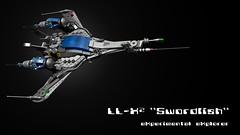 LL-X2 01 (binuche.bins) Tags: classic experimental lego space explorer spaceship swordfish moc llx