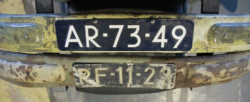 "Onderste bumper 1950-1956 & Bovenste bumper is 1956-1958 • <a style=""font-size:0.8em;"" href=""http://www.flickr.com/photos/33170035@N02/32324739734/"" target=""_blank"">View on Flickr</a>"