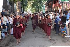 30099725 (wolfgangkaehler) Tags: 2017 asia asian southeastasia myanmar burma burmese mandalay mahagandayonmonastery mahagandayonmonastary people person monks buddhist buddhistmonasteries buddhistmonastery buddhistmonk buddhistmonks almsceremony almsbowls meal