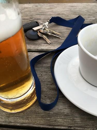 Bier, Kaffee, Schlüssel
