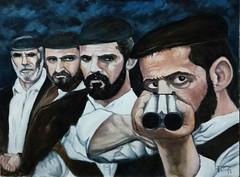 Bandidos. (cicipeis) Tags: bandidosebalentes cicipeisart sardegnaelasuastoria painting