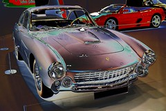 Psychedelic Ferrari 250 G7 Lusso (Pete_Sy) Tags: psychedelic ferrari 250 g7 lusso italian digitalart digitallyaltered digitallymanipulated londonclassiccarshow 2017