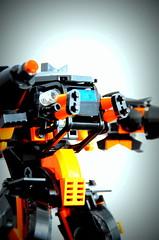 Assault Mech - Beast Mk. I - filter (Wafna-204) Tags: afol moc wafna mech mecha hardsuit robot lego legophotography