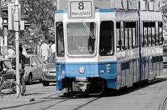 Monochrome (SG.NikonD7000) Tags: travel monochrome nikon swiss zurich transport tram zürich 70300mm tamron 70300 d7k d7000 nikond7000 iamnikon