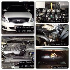 Nissan Teana Capsul 58 L  สามารถชมงานติดตั้งแก๊ส LPG นัดคิวติดตั้ง ตรวจเช็คระบบ ปรับจูน ได้ที่ Nine Auto Service  ลำลูกกา คลอง 6 โทร 084-9383802 http://www.facebook.com/nineautoservice.2011