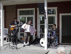 The Band - so talented! (Lisa Josefsson) Tags: music sun sunlight sunshine kids night happy day midsummer longest wreaths midsommar celebrating maypole shortest