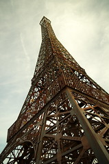 Things are not what they seem. Eiffel Tower