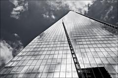 """Once I built a tower...."" (fishric) Tags: london tower glass monochrome shard 14mm gf3"