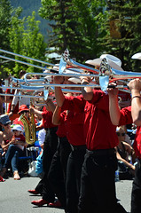 Calgary Stampede Showband Canmore Canada Day Parade 2014 8 (pokoroto) Tags: summer people musician canada calgary day band july parade alberta marching canmore stampede 2014 7  showband   bookmonth fumizuki  shichigatsu 26
