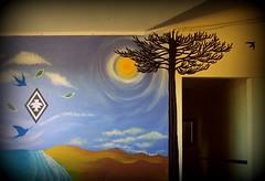 witrampürramgekey ta newen ñuke mapu mew (Felipe Smides) Tags: mural resistencia pintura mapuche fuerza muralismo energía newen lafkenche smides felipesmides